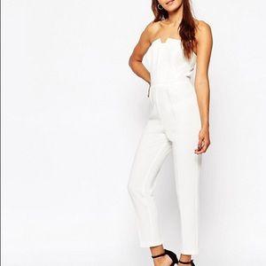 ASOS white oragami jumpsuit